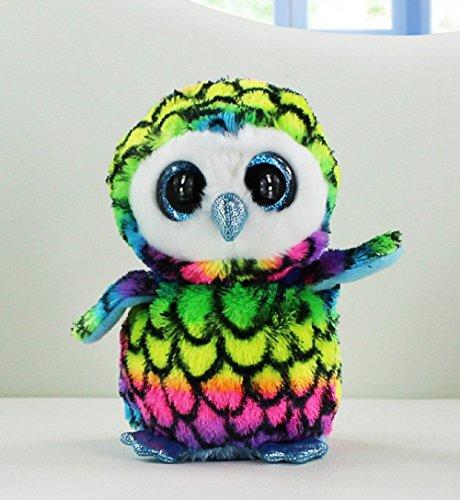 Plush Toys Beanie Babies Camouflage Owl Stuffed Animals Soft Baby Dolls