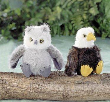 RufflesBaby Owl by Stuffed Animal House