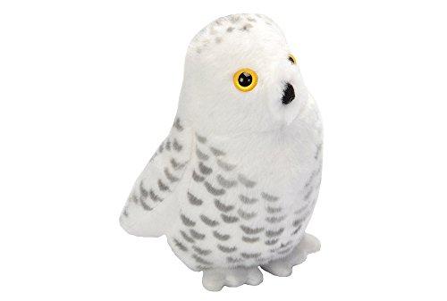 Wild Republic Audubon II Snowy Owl Stuffed Animal 5