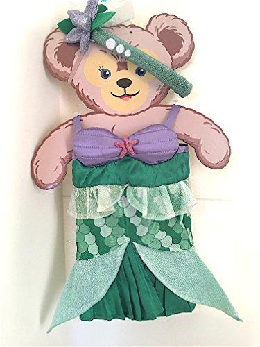 Disney Parks ShellieMay Duffy Friend Ariel Little Mermaid Plush Doll Clothes NEW Shellie May Bear