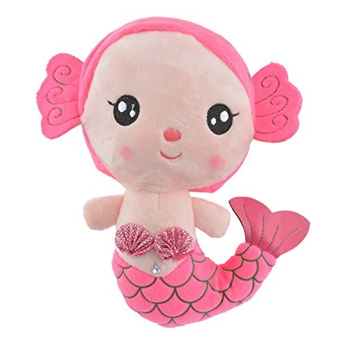 Encounter Pink Mermaid Plush Doll Stuffed Animals