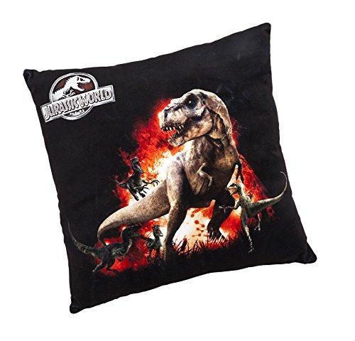 Joy Toy 65458 40 x 40 cm Jurassic World T-Rex Plush Pillow by Toy Joy