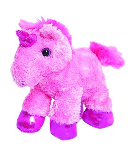 8 Pink Mini Flopsie Unicorn Soft Toy