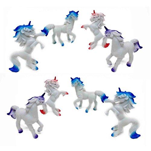 Fun Central AZ921 3 Inch Unicorns Animals - Assorted