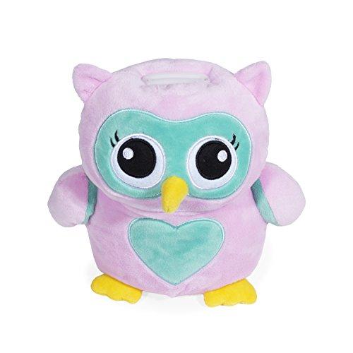 Jumbo Plush Owl Bank