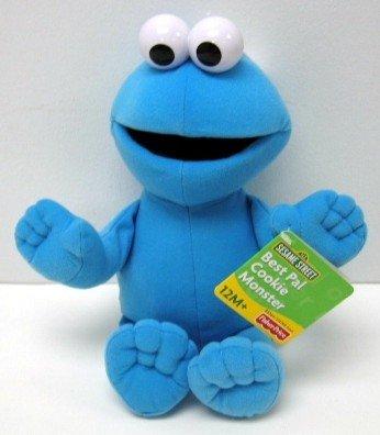 Sesame Street 12 Best Pal Cookie Monster Plush Doll