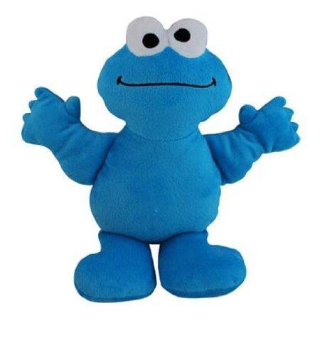 Sesame Street 9 Cookie Monster Plush Doll with Bean Fill Bottom