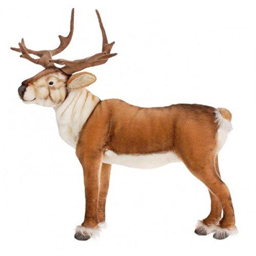 Life-like Handcrafted Extra Soft Plush Nordic Deer Stuffed Animal 235