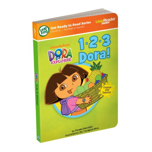 Awesome LeapFrog LeapReader Junior Book 1 2 3 Dora works with Tag Junior