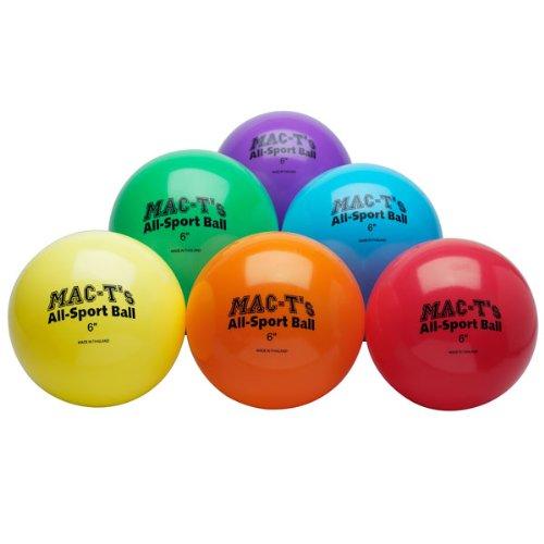 Nasco PE08365E 6 All-Sport Ball Set of 6 colors