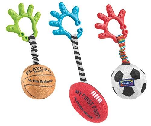 Playgro Baby Sports Balls Set of 3