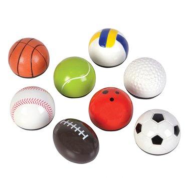 Pull Back Sports Balls - Set of 8