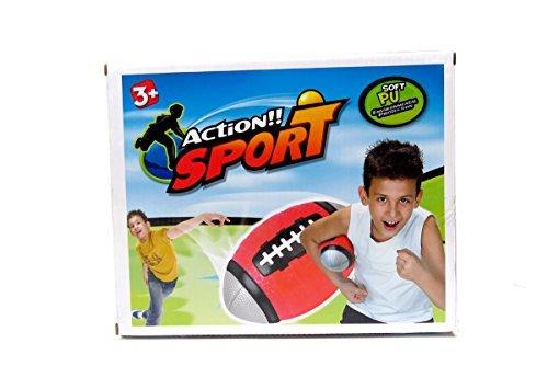 Set of 4 Sports Balls for Kids Soccer Ball Basketball Football Tennis Ball