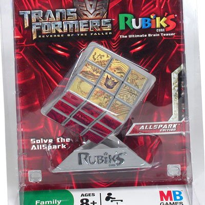 Transformers Rubiks Cube Game AllSpark Edition