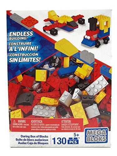 Mega Bloks Set of 130 Small Building Blocks Daring Box