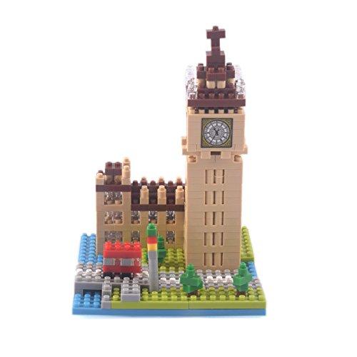 YouCute Micro BlocksBig BenSmall Building Block Set