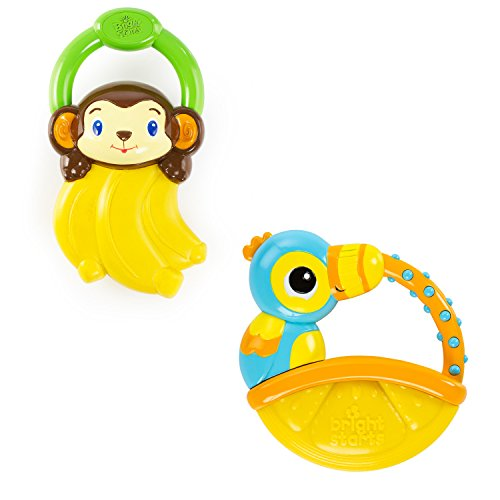 Bright Starts Vibrations Teether Style may vary