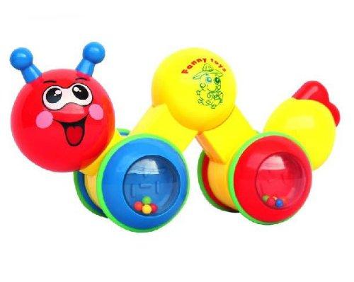Press N Go Inchworm Crawling toys encourage baby walking BTDGW03