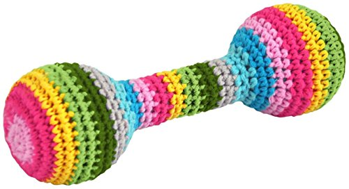 green sprouts by i play Organic Chime Rattle-Multicolor - 0-12 Months - First Adventures
