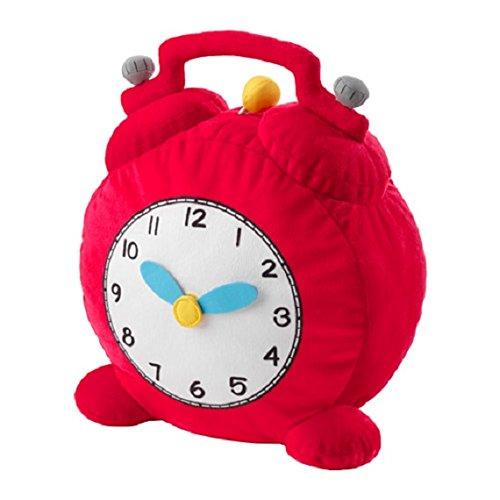HEMMAHOS Soft toy clock red
