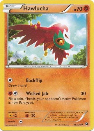 Pokemon - Hawlucha 48124 - XY Fates Collide