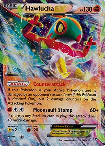 Pokemon Hawlucha Ex Furious Fists 64111