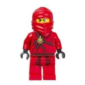 Kai Red Ninja Lego Ninjago Minifigure