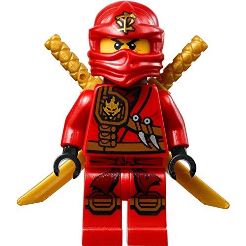 LEGOÂ Ninjago Minifigure - Kai Zukin Robe Red Ninja with Dual Gold Swords 70745