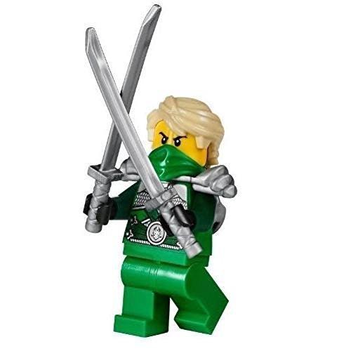 LEGOÂ Ninjago Minifigure Lloyd Garmadon Green Silver Techno Ninja 70728