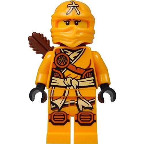 LEGO Ninjago Minifigure - Skylor Female Orange - Gold Ninja with Crossbow and Quiver 70746