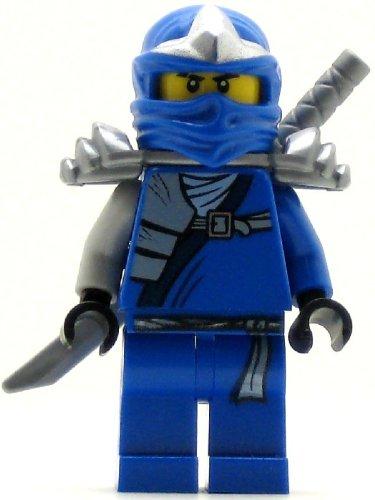 Lego Ninjago Jay ZX Minifigure with Armor and Katana Sword
