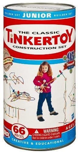 Tinkertoy Classic Construction Set Junior Builder