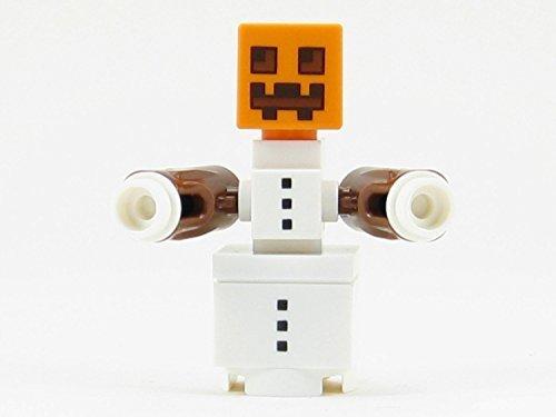 LEGO Minecraft Minifigure Snow Golem Minifig Snowman Pumpkin Head