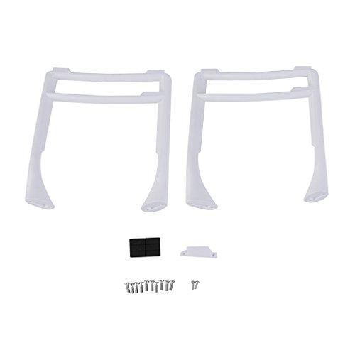 Hobby-Ace Widened Extended Tall Landing Gear Landing Skid for DJI Phantom 3 Professional Advanced Standard(White)