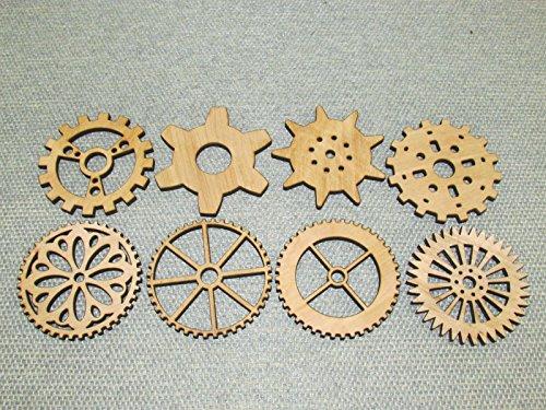 Lot 2 Includes 8 3 Custom Wood Wooden Gears Gear COG Steampunk Wall Art