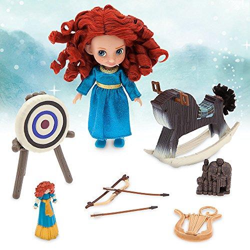 Disney Animators Collection Merida Mini Doll Play Set - 5 Inch