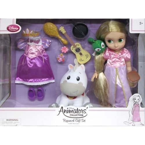 Disney animators collection Doll Rapunzel Gift Set