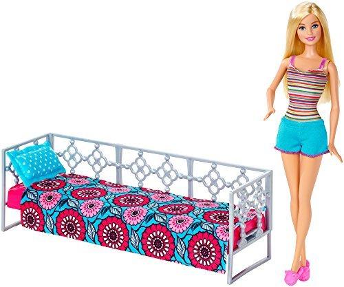 Barbie Barbie Doll and Bedroom Playset DFT98 parallel import goods