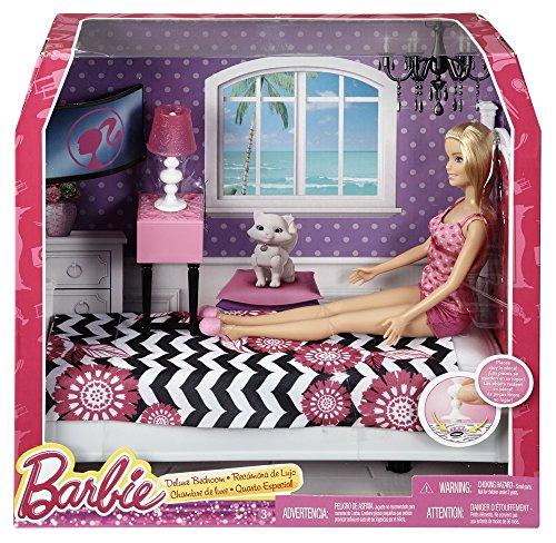 Barbie Doll and Bedroom Furniture Set