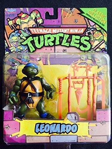 Teenage Mutant Ninja Turtles Classic Collection Leonardo Action Figure 4 Inches