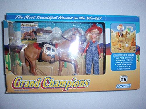 1992 Palomino Stallion Horse Grand Champions Doll Accessory Set Marchon