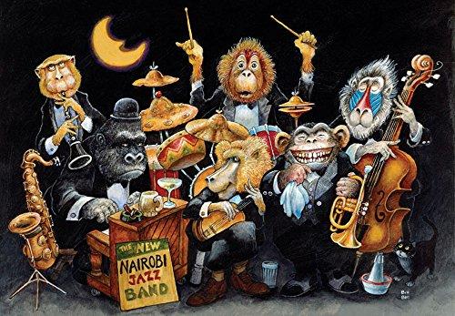 Music Treasures Inc New Nairobi Jazz Band Puzzle 500 pieces