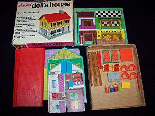 Vintage Doll House By Playart