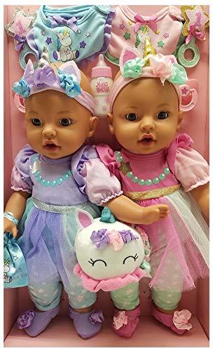 Brass Key Keepsakes Celebrating Twins 15 Twin Baby Dolls A Magical Day - Unicorn