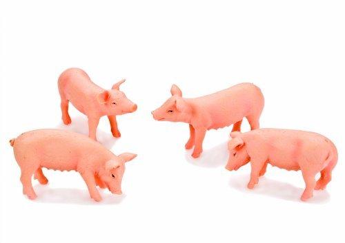 Van Manen 571905 Pig figures set of 4 by Kids Globe