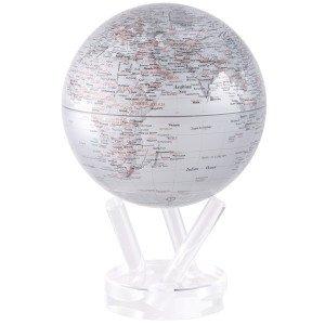 6 Silver Earth MOVA Globe