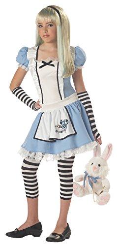 California Costumes Girls Tween Alice Costume BlueWhite Large