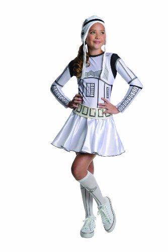 Star Wars Storm Trooper Tween Costume Dress Small