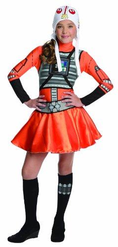 Star Wars X-Wing Fighter Tween Costume Dress Small