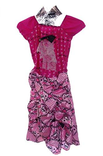 Girls Draculaura Costume Size Large